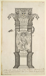 Carved pillar of the choultry of Tirumala Nayyak, Madurai 762
